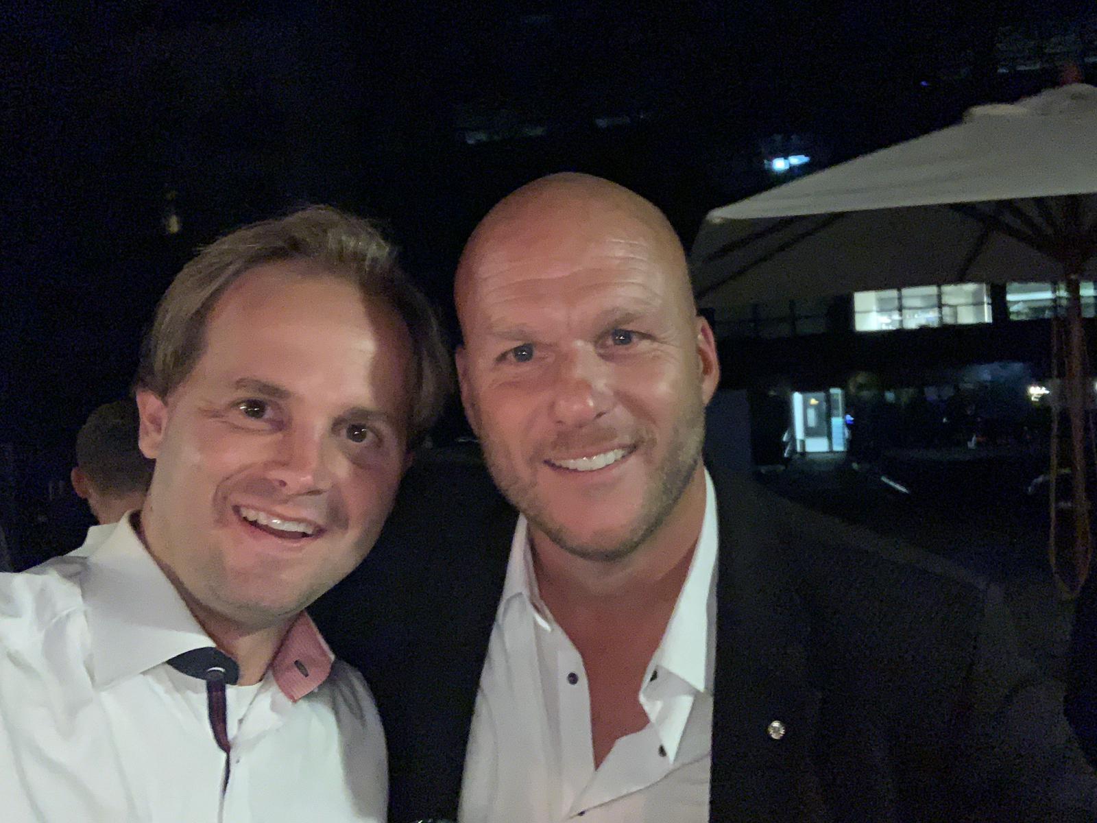 Fabian (RT4) und Oldie Arne