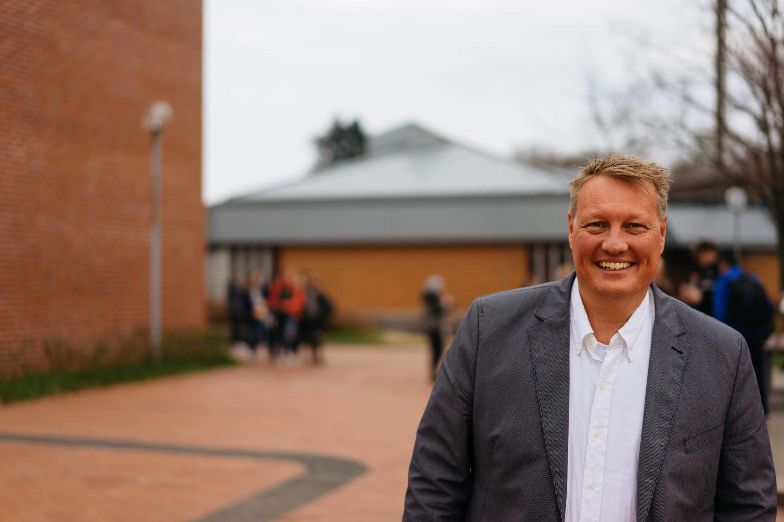 Frank Stöber ist der Vorsitzende des Schulleitungsverbandes in Niedersachsen (SLVN).
