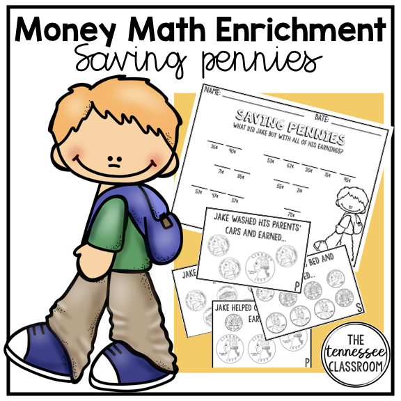 Money Math Enrichment -