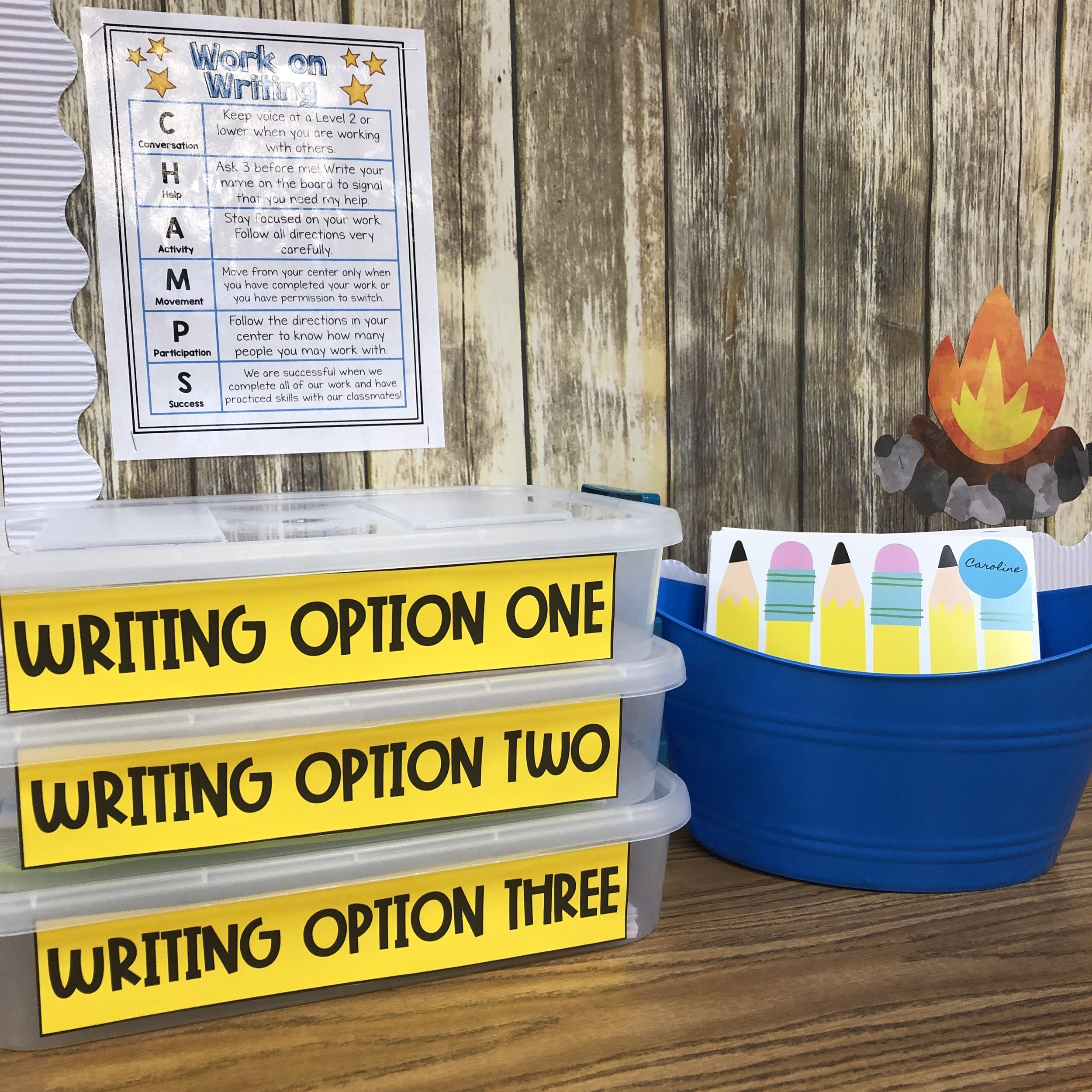 Watch another Video. - Tennessee Classroom Writing Centers Tour!