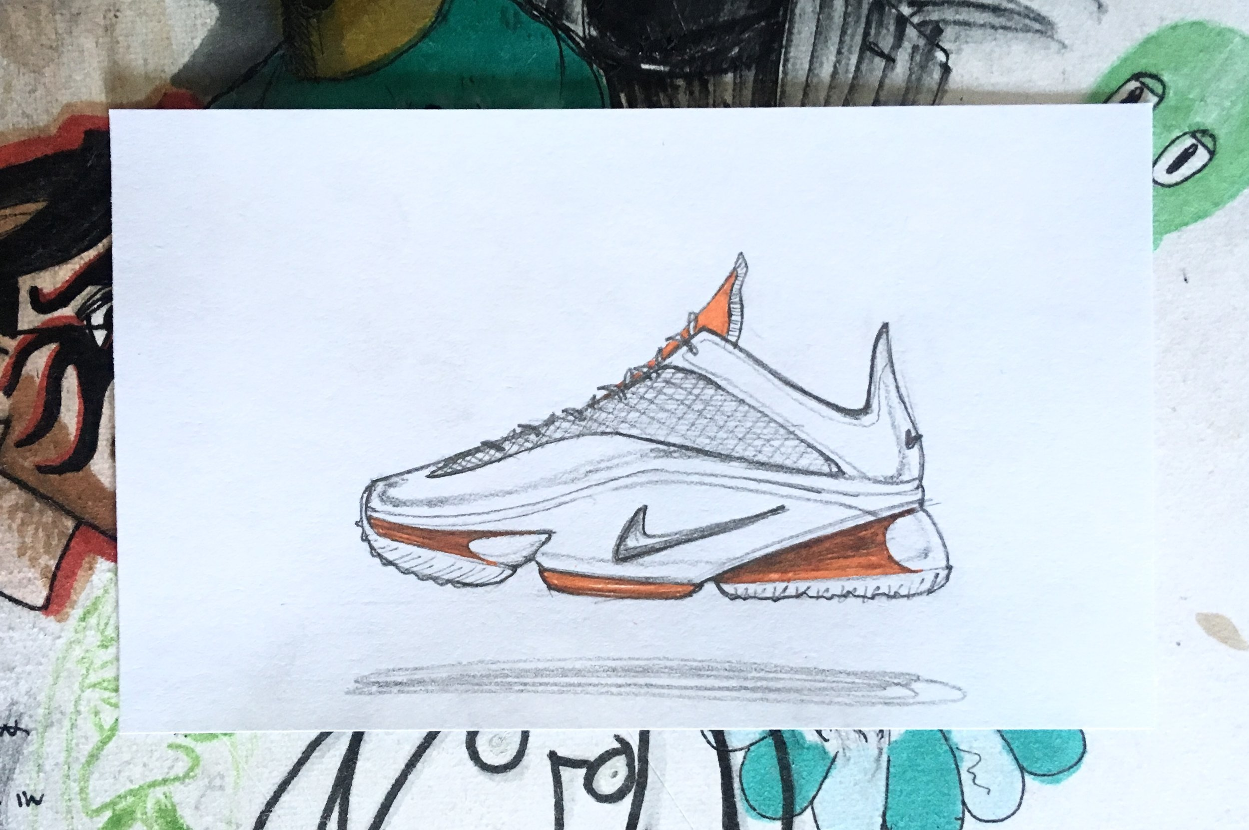 Daily Sketch: Nike Basketball Concept