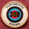 Badge for scoring 300 for the Portsmouth round - This is the 1st one you can get