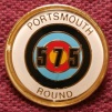Badge for scoring 575 for the Portsmouth round
