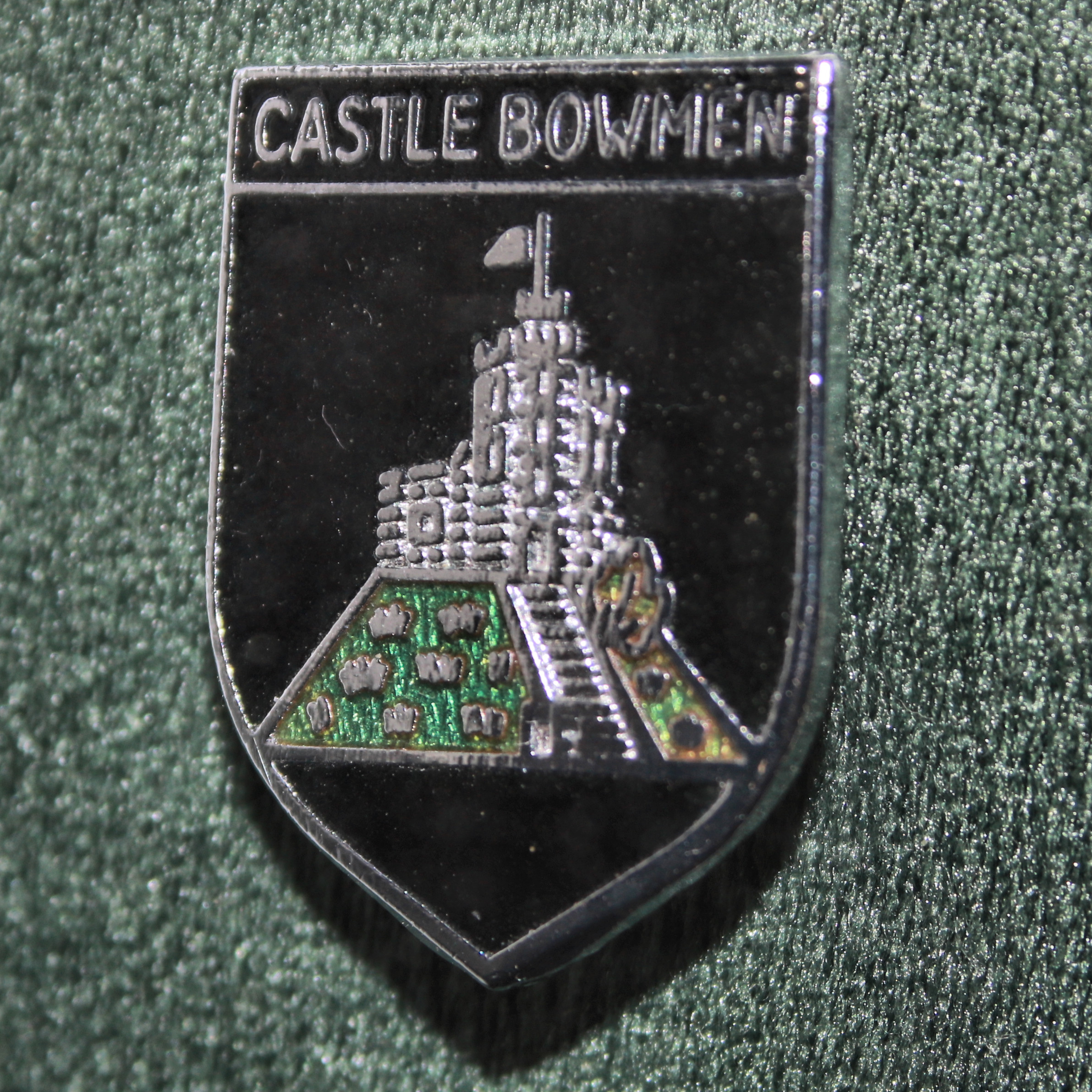 THe original CLub Badge from the early days of Castle Bowmen - (no longer available)
