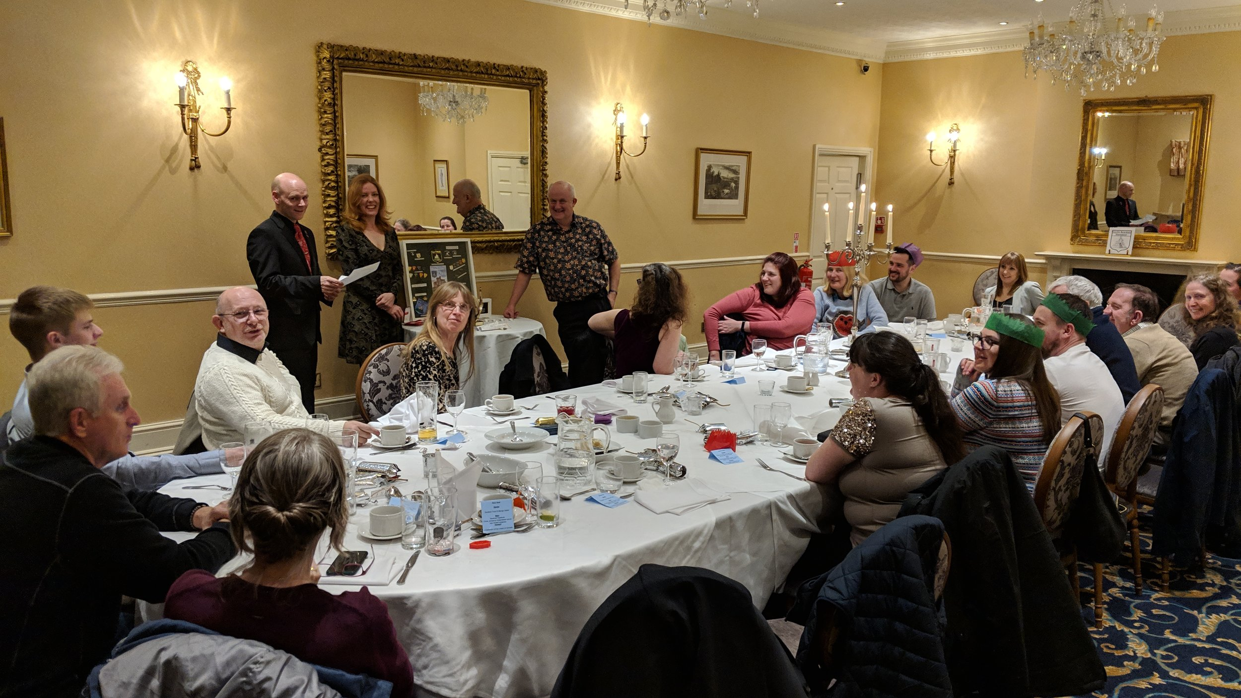 Castle Bowmen Club Dinner 2018 (held in 2019)