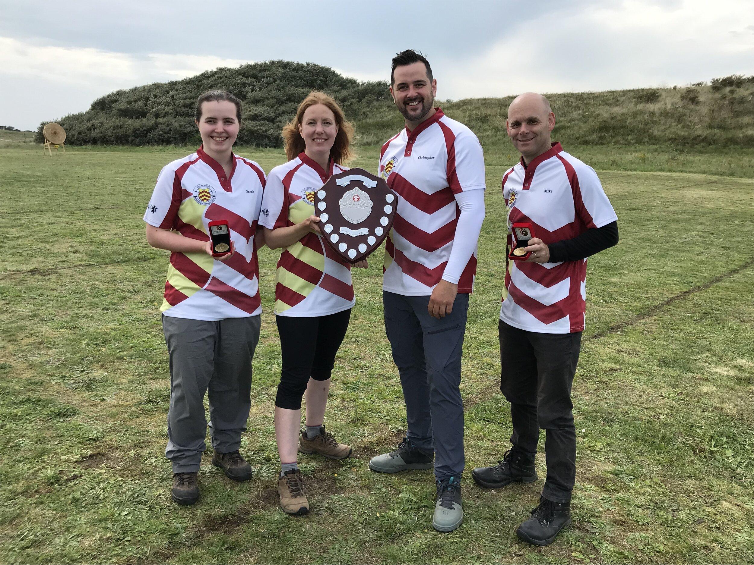 Castle Bowmen Barebow Champions