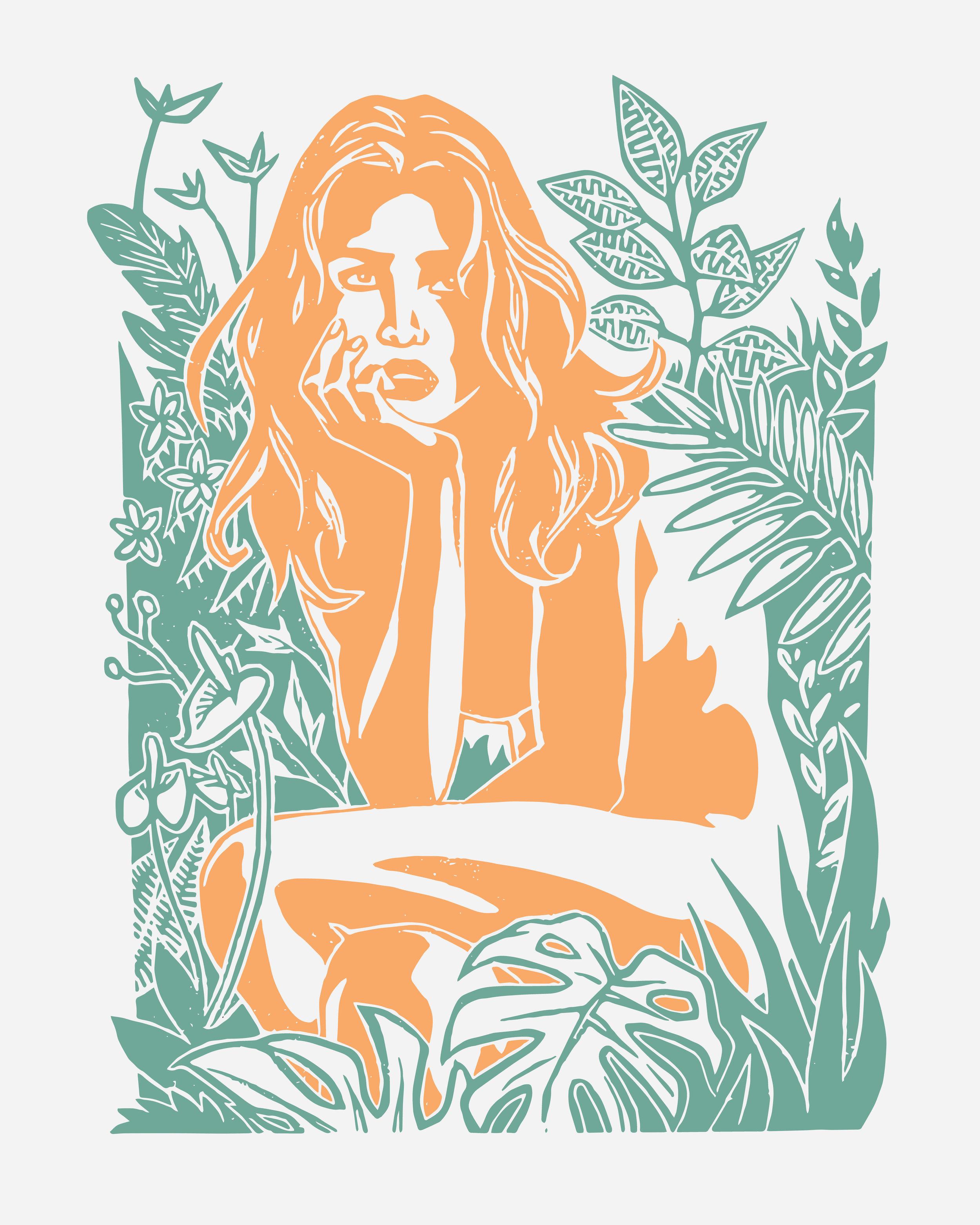 Pura Vida (Art Poster) . Screen Print. 2019