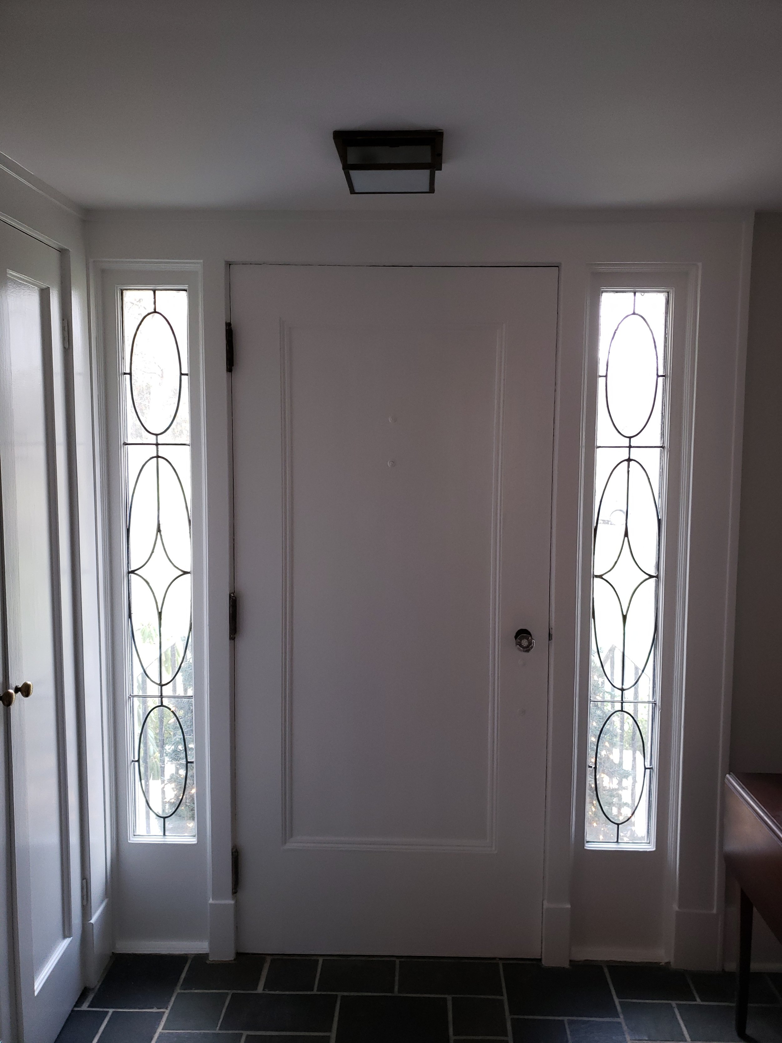 """"""" We were very happy with Josh's work. His attention to detail and his  preparation of surfaces before painting were meticulous. We would highly  recommend Stamp Paints. We would also hire them to do painting for us  in the future. """"   -Judith and Kimball S."""