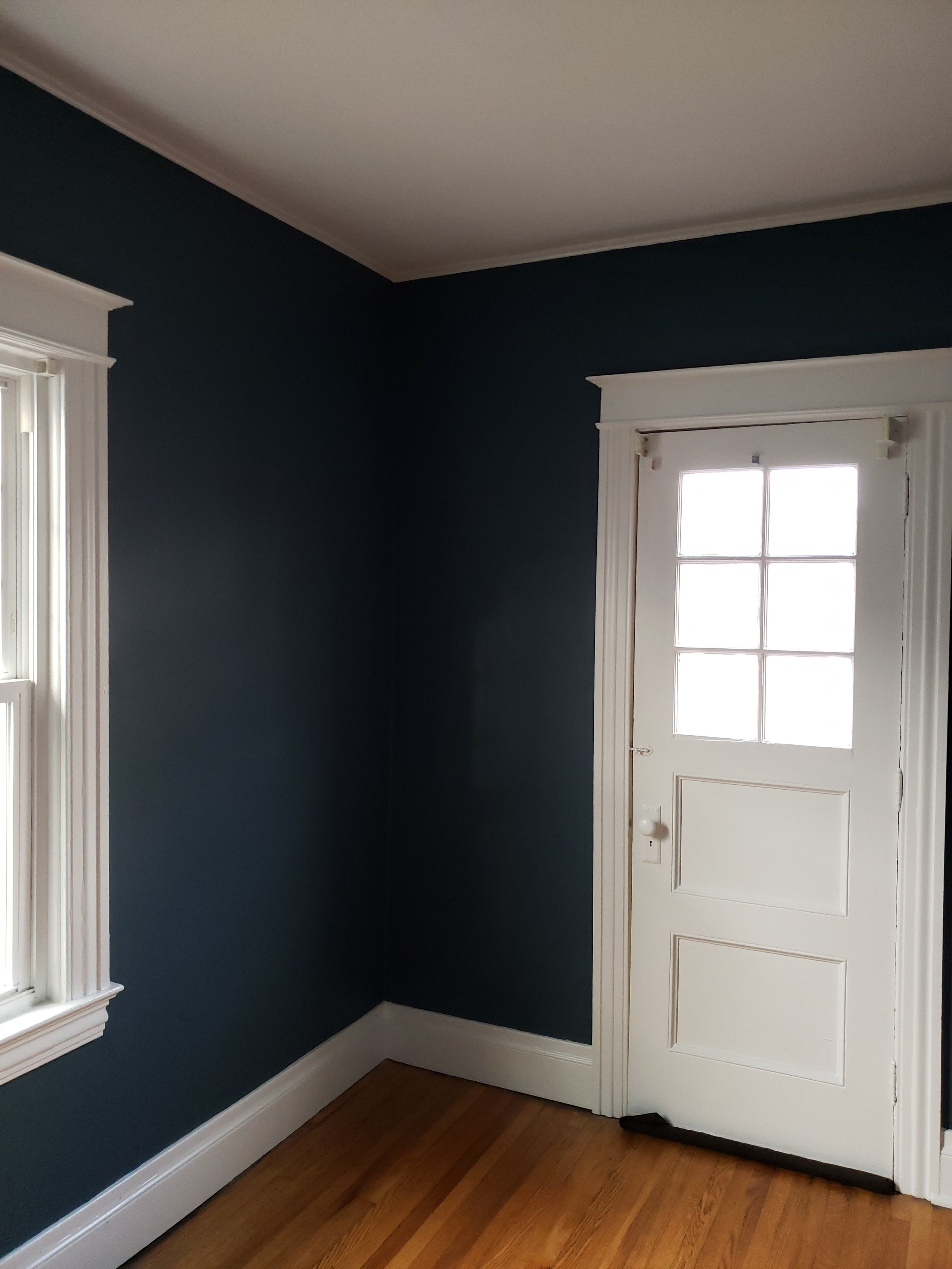 """""""LOVE IT. Thank you! Everything looks great. I was really nervous about  that color we chose for the nursery but I really like it and feel like  it suits us. Thanks again for your very CLEAN work.""""    -Nicole T."""
