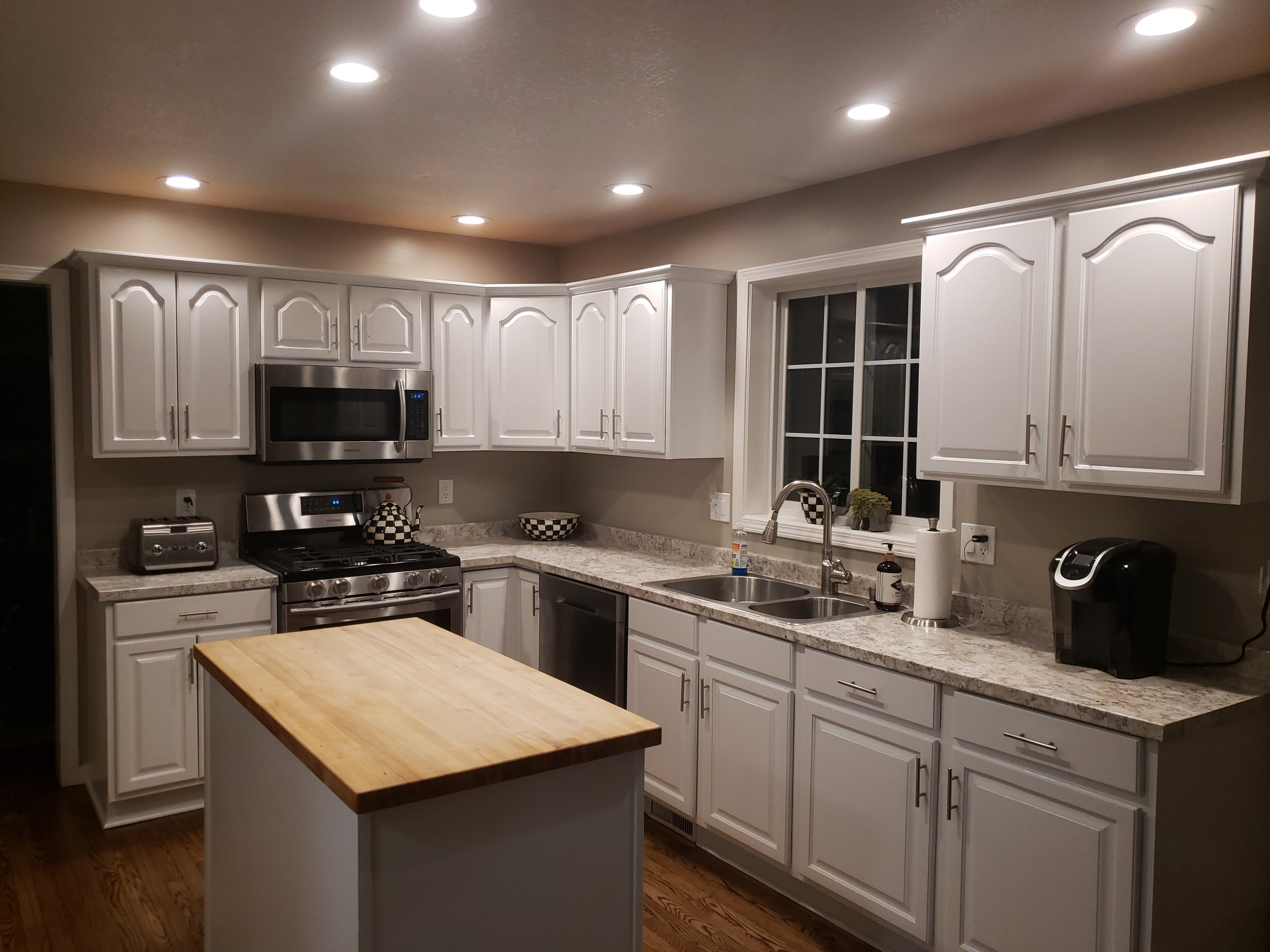 """"""" Josh did a fantastic job on our kitchen cabinets. His attention to detail was much appreciated! """"   -Maggie M."""