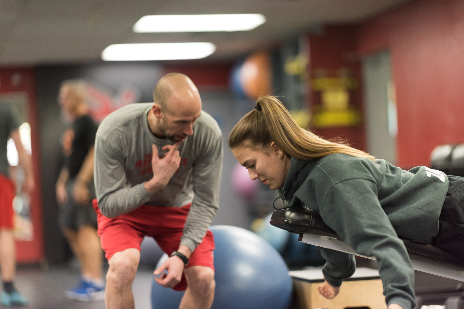 ACTIVE REHABILITATION   Whether you have a sports injury, motor vehicle injury or other pain, you will heal faster with our Active Rehabilitation programs. Our on-staff Kinesiologists will tailor a treatment plan to help you feel great, faster!