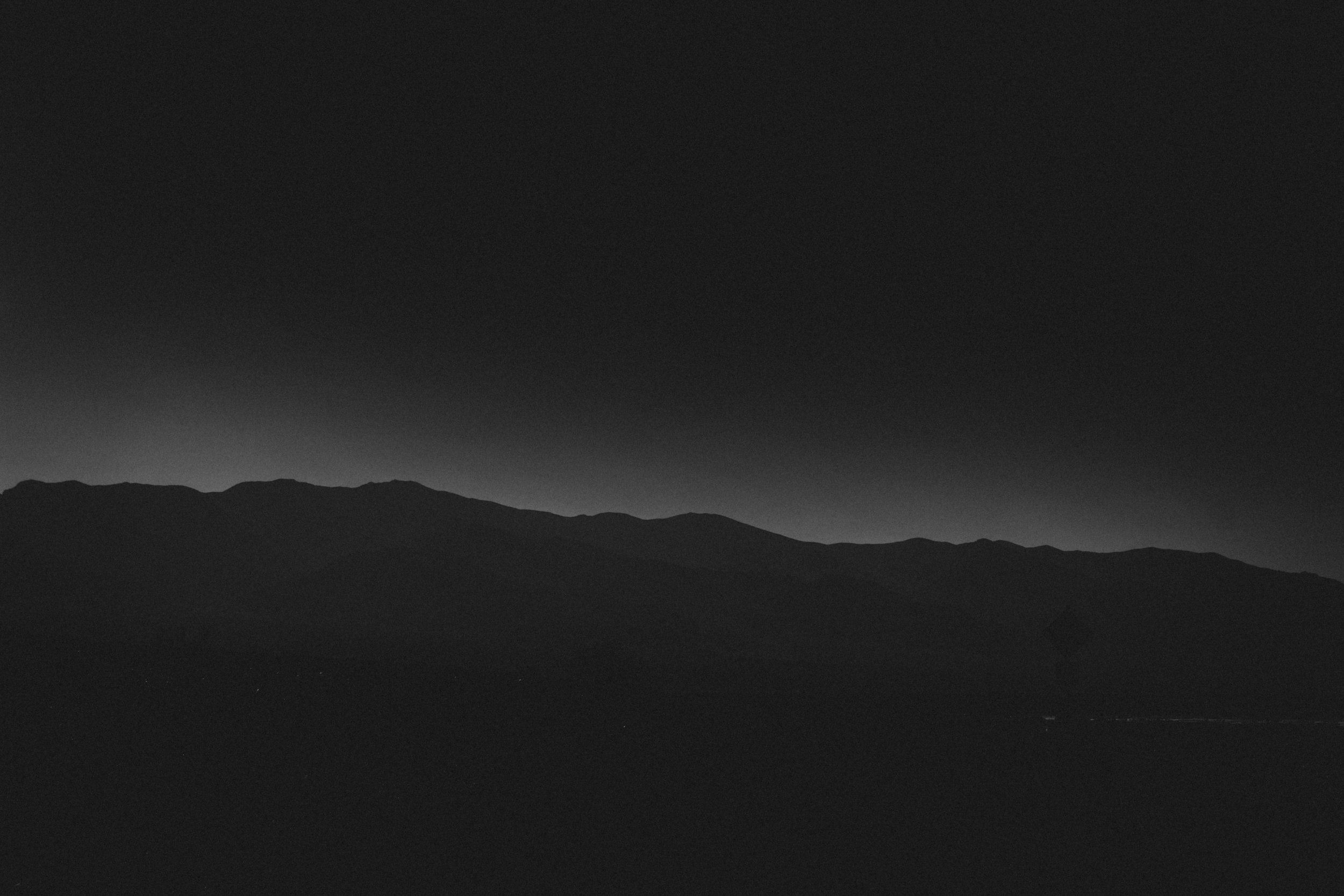 VIII. DEATH VALLEY, ON DARKNESS