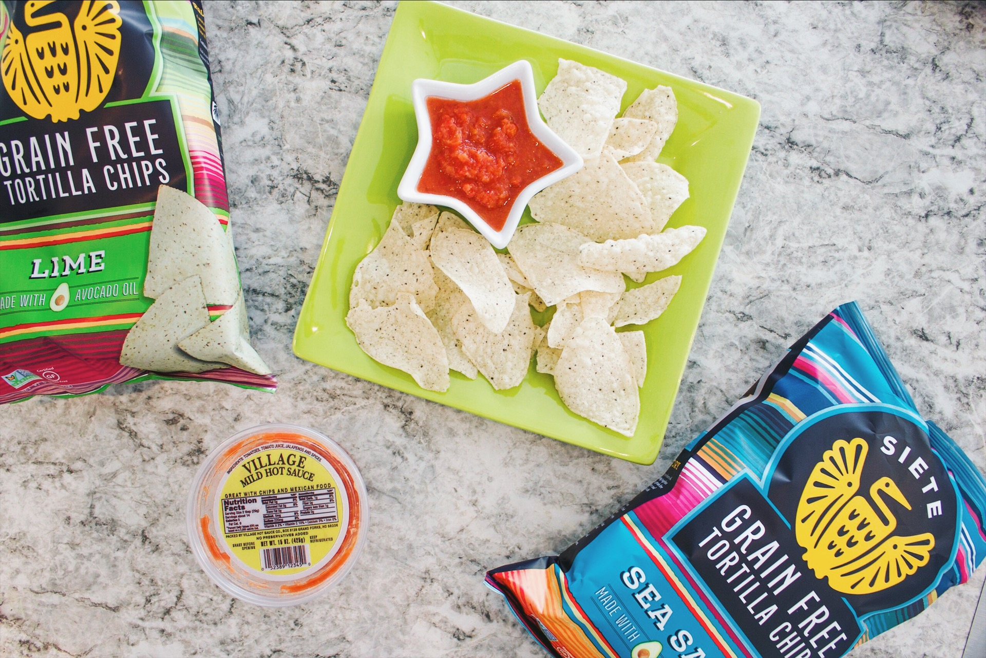 My favorite flavor is the classic Sea Salt, but they also have Lime and Nacho varieties too.