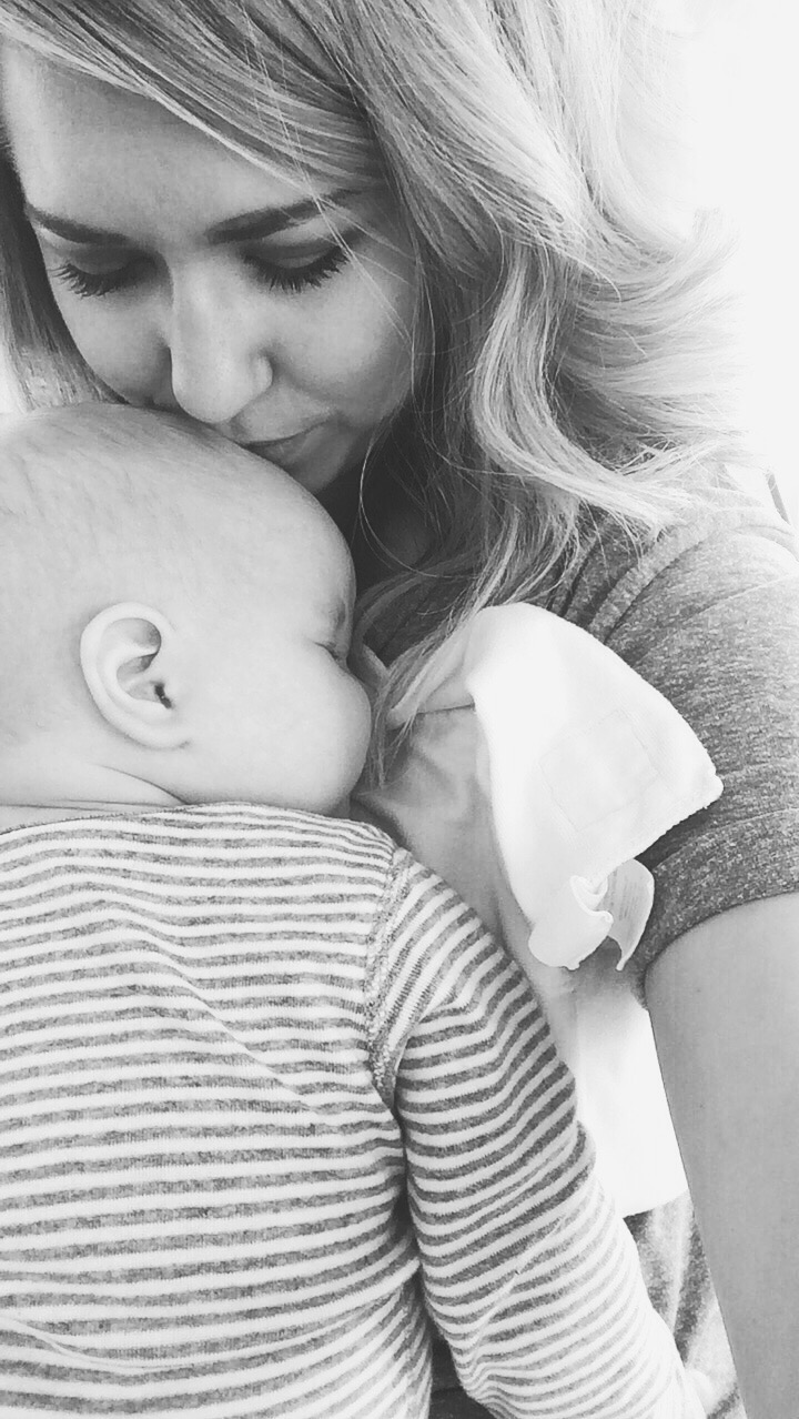Baby snuggles are the best kind of snuggles.