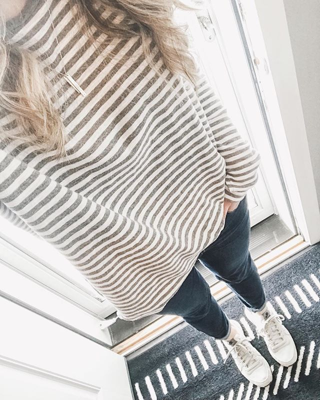 Casual & cool... kind of like a cucumber 🥒 no, totally not like a cucumber 😂⠀ BUT I have loved wearing this casual stripped tee in my go-to everyday mom style outfits so much that I now own it not 2, but 3 colors!!⠀ 🙈⠀ It's slightly oversized, runs true to size, & can be worn alone or as a layering piece = best $15 you'll ever spend!⠀ •⠀ Check out my IG Stories for a close up view & click the link my bio + tap this photo to shop the look (& snag yourself this top on sale before it sells out fast!) 🙌�⠀ _____⠀ #ShopStyle #affiliatelink #shopstylecollective #shopthelook  #shopmystyle #whatiwore #wiwtoday #momootd #momiform #momuniform #fashionmama #momstyle #whatimwearing #motherhoodinstyle #ig_motherhood #realoutfitgram #wearitloveit #joyfulmamas #ohheymama #thatsdarling #darlingweekend #mymadebymary #AerieReal  http://www.adriannabohrer.com/instagram