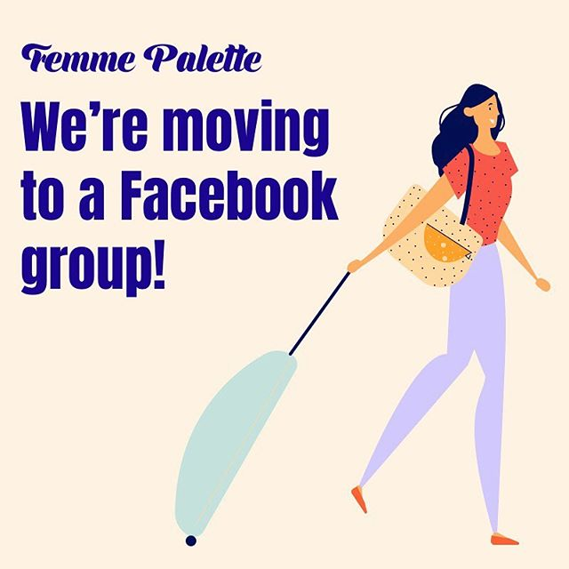 ✨We have a big announcement for all the members of the community! ✨Based on your feedback, we decided to move to a Facebook group from the Mighty Networks platform. We're hoping that this way, you won't miss any events, resources we share and will be able to engage with other members of the community easily. Please use this space as a platform to discuss any career related questions, share job offerings, ask + offer your services, and most importantly introduce yourself to build your network! Hope to see you there :) facebook.com/groups/femmepalette or link in bio.