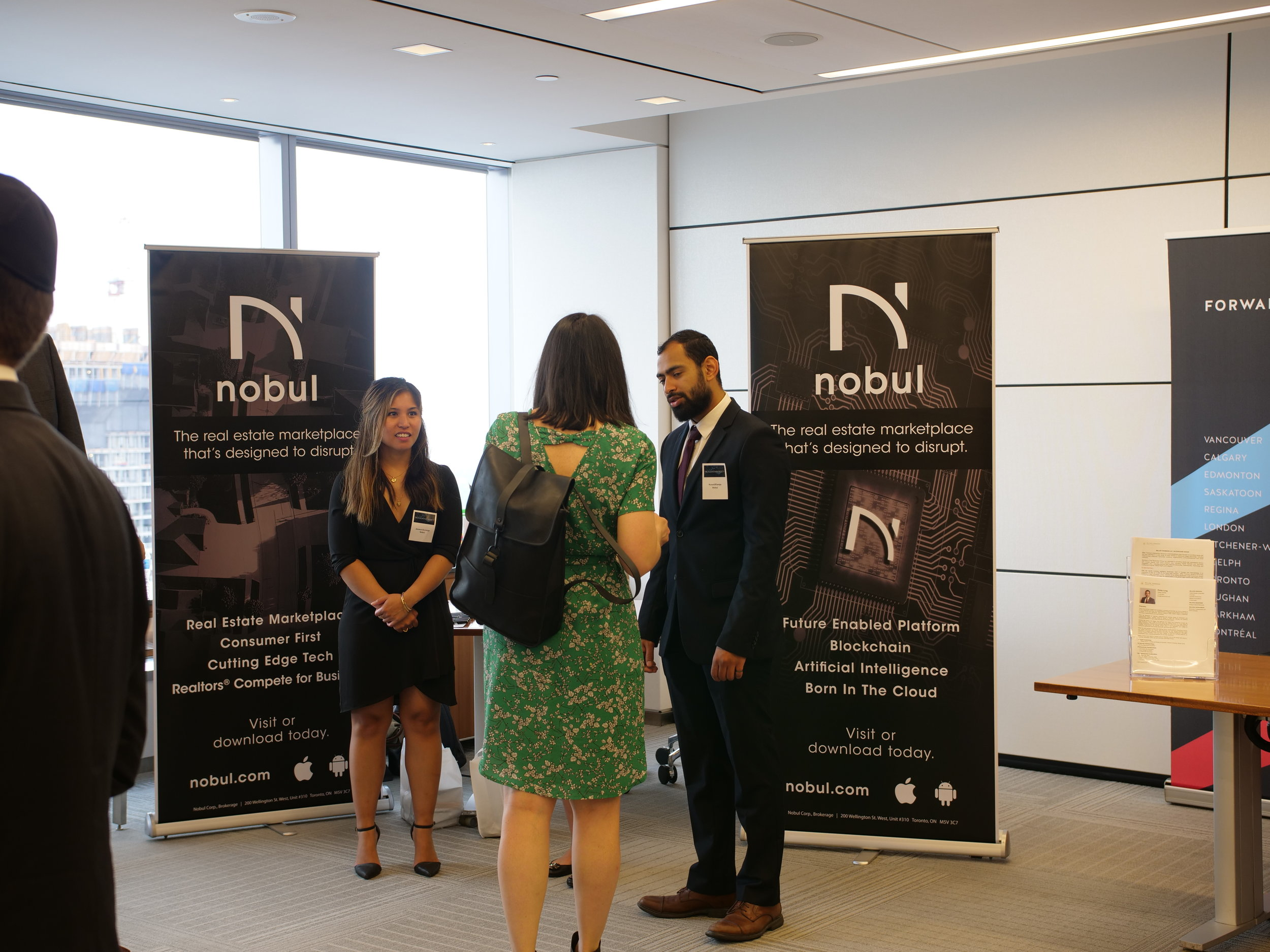- The conference was held at KPMG office in downtown Toronto and kicked off with coffee and deal making. One of the rooms was used as an Exhibitors and Deal Making lounge where attendees could meet exhibitors or discuss transactions with other conference attendees.