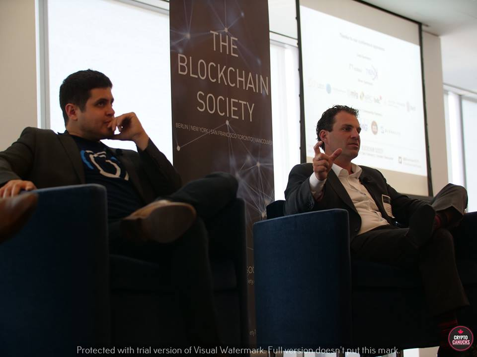 - The conference came to an end with an Enterprise Blockchain Infrastructure panel discussion including Scott Howard of Epic Blockchain, Kesem Frank of Aion and Eric So of Globalive Tech.