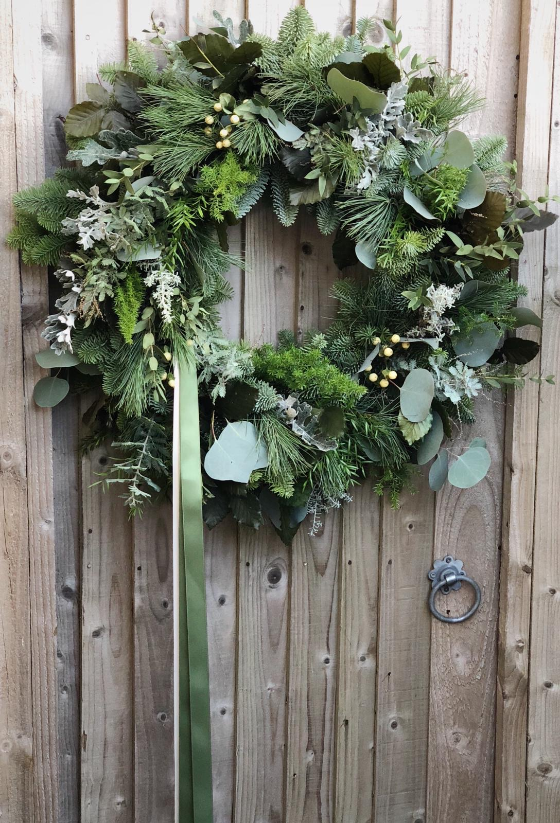 Christmas wreaths by Donna Carley