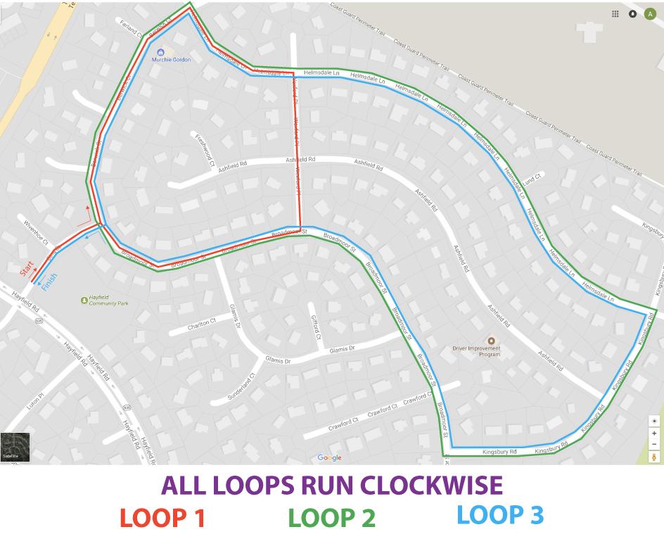 2018 Race Route