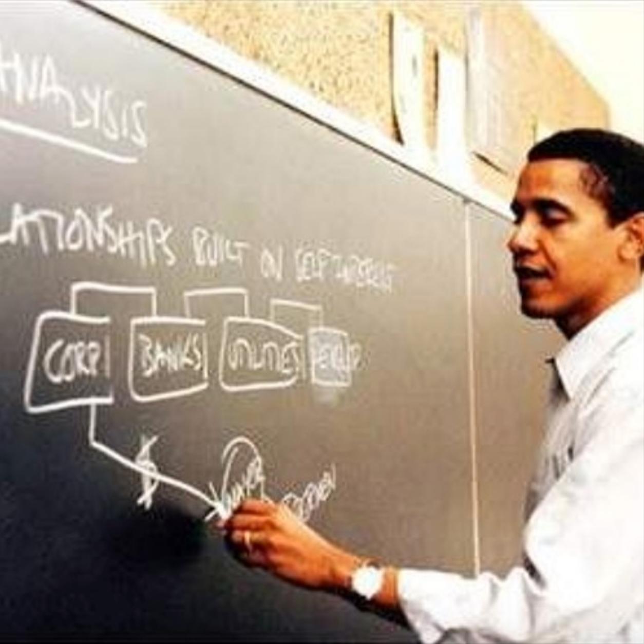 Obama: Professor President .