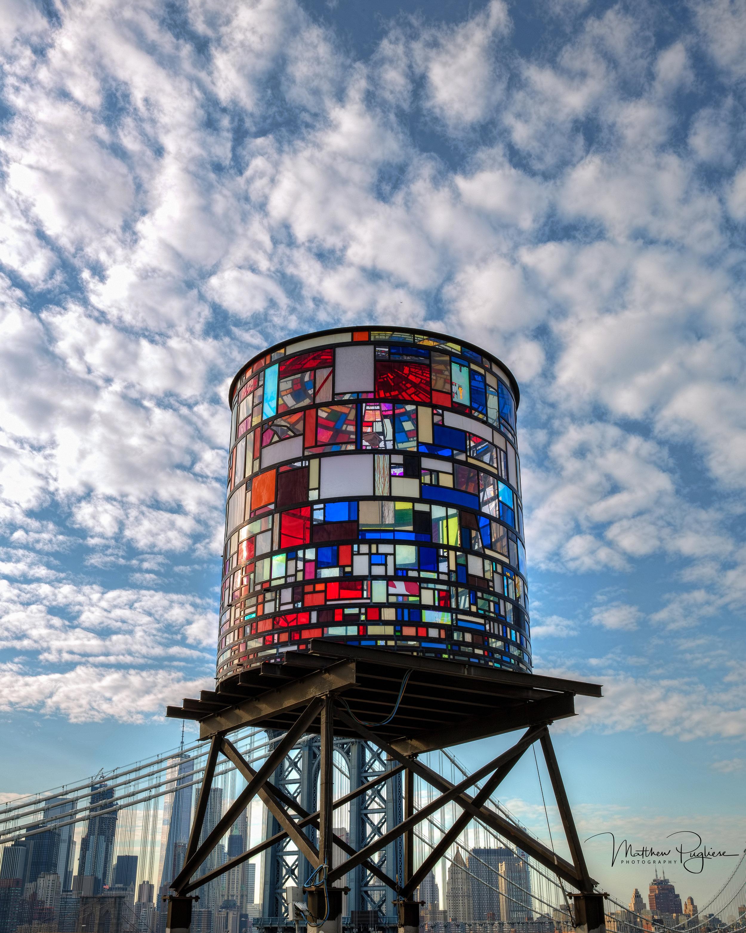Tom Fruin's WATERTOWER ( Water Towers of New York , BBC Radio 3).