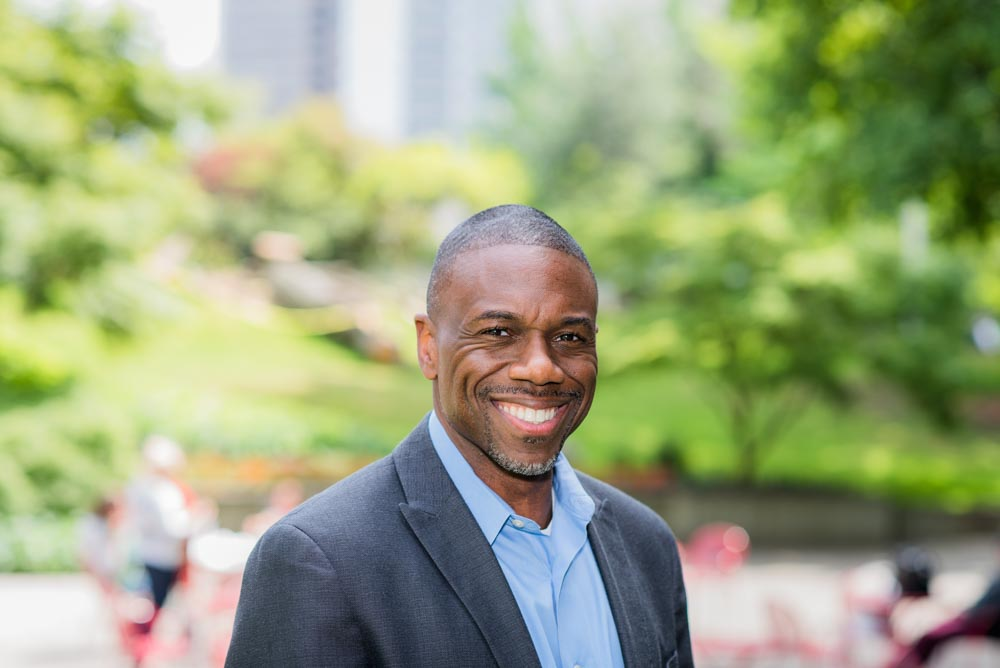 Seattle Foundation senior executive Michael Brown is leading the foundation's new Civic Commons initiative. Photo courtesy of the Seattle Foundation