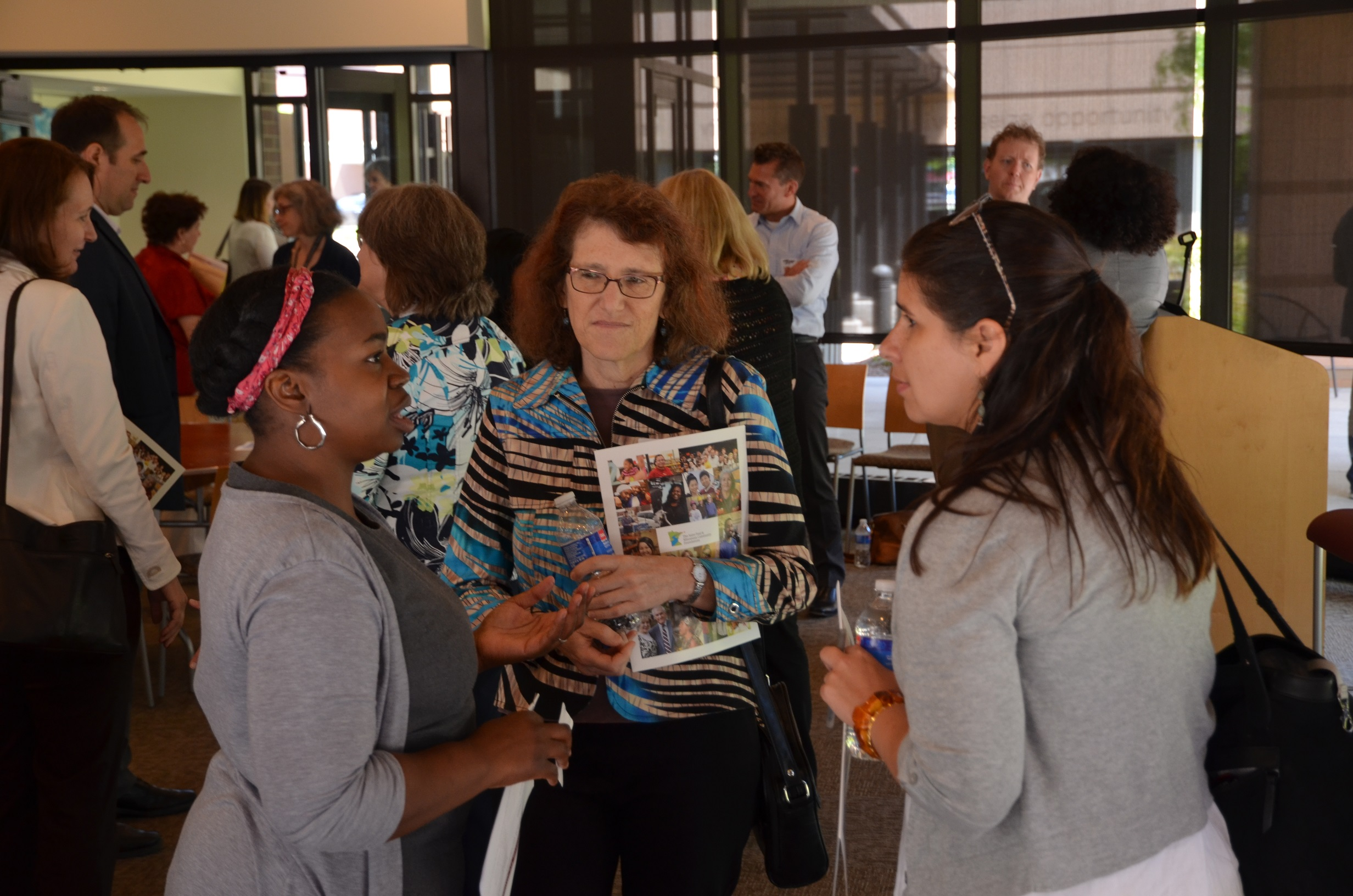 The Saint Paul & Minnesota Community Foundations hosts a recent Community Impact gathering to help break barriers between grantmakers and grantees.