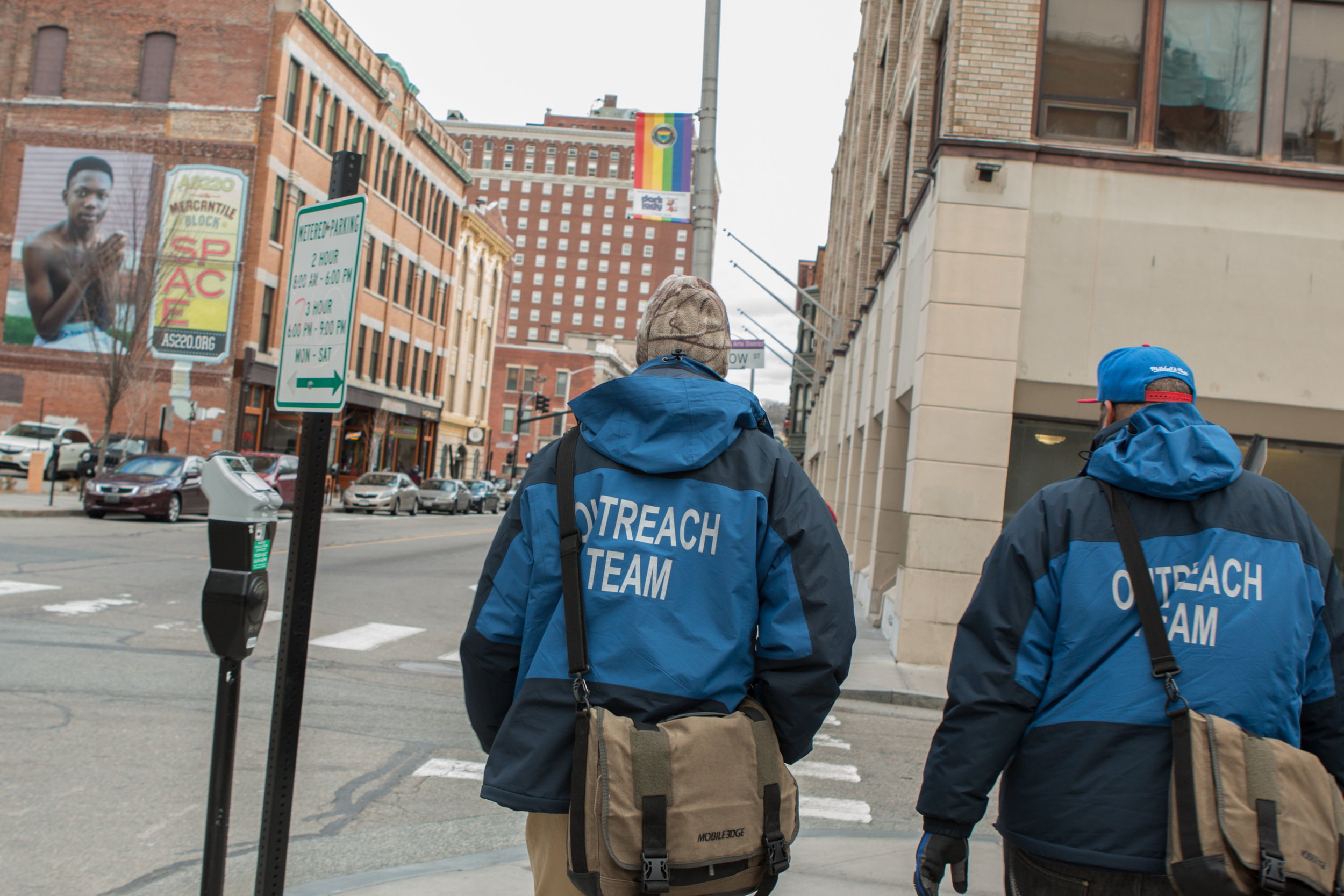 Community foundations fund front-line efforts like an outreach team in Providence, R.I., that works to connect homeless people in the city to critical social services. Photo courtesy of the Rhode Island Foundation.