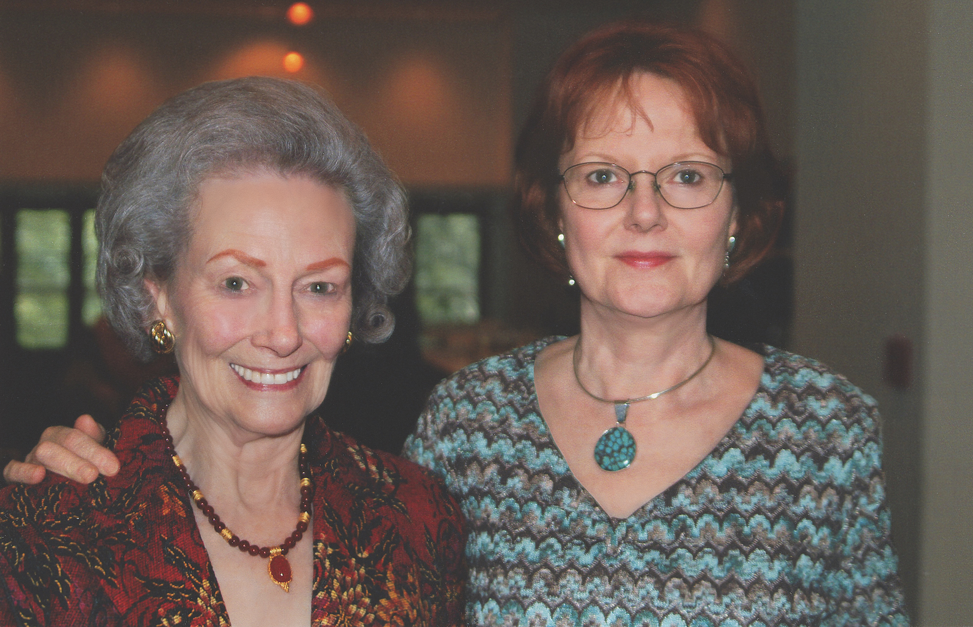 Jeanne and Sharon Shelby — Photo courtesy of Communities Foundation of Texas