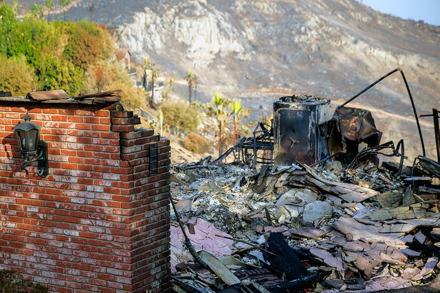 Community foundations are assisting in relief and recovery efforts in California. Photo courtesy of Peter Buschmann, U.S. Forest Service.