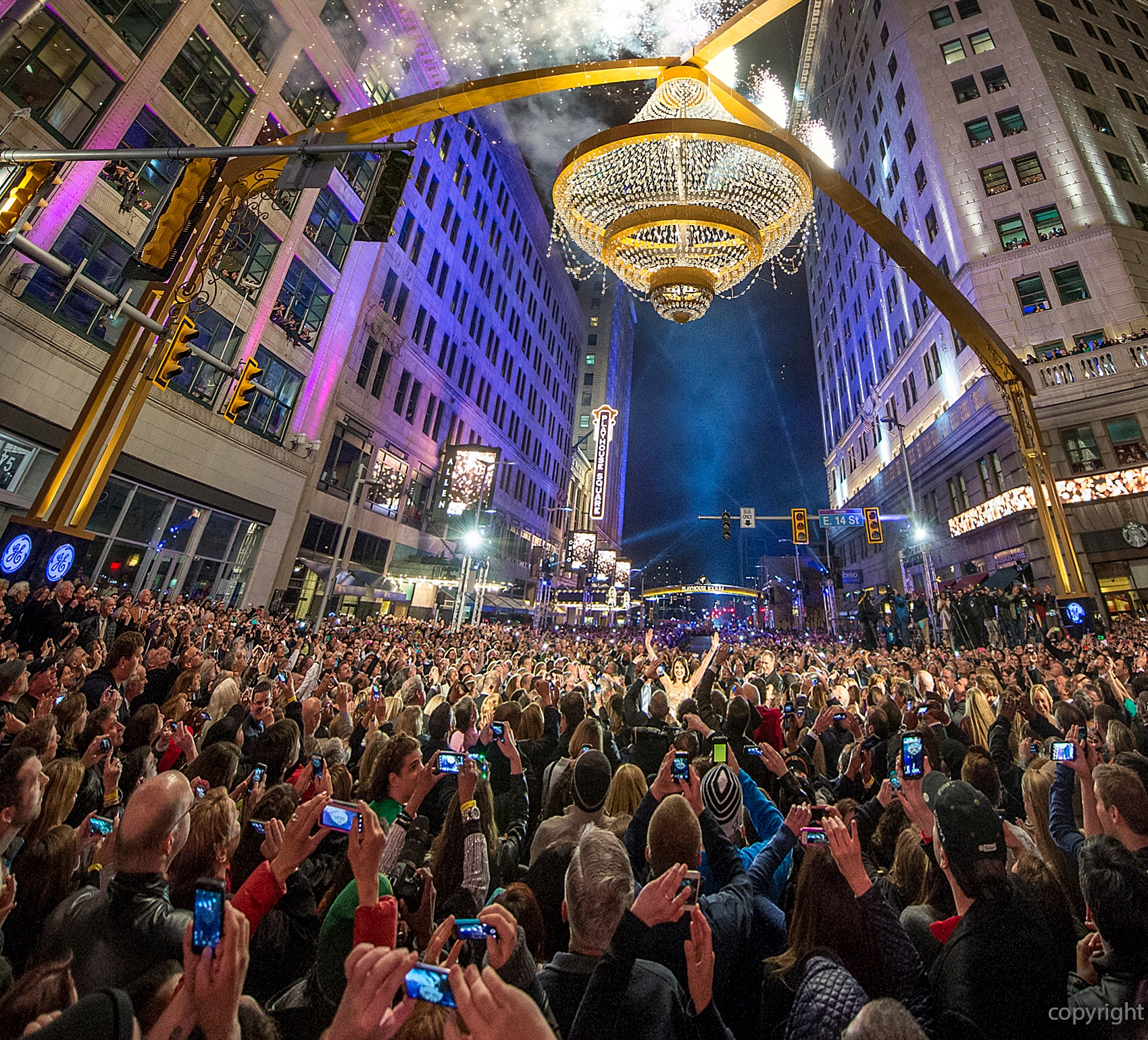 The Cleveland Foundation's social impact investing helped make Playhouse Square one of the premier performing arts centers in the United States. Photo credit: The Cleveland Foundation