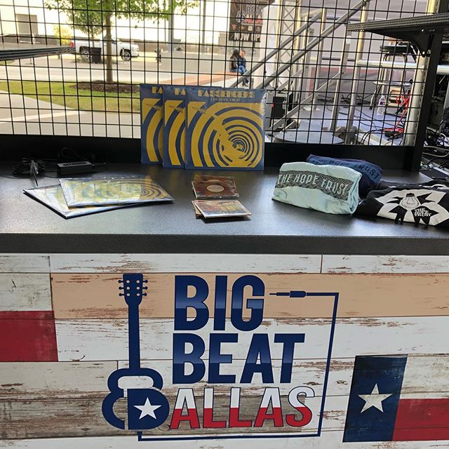 Thank you @bigbeatdallas. We had a great time yesterday. Thank you to everyone that came out to show their support and a shout out to our new fans. . . . #local #music #rock #pop #indie #mockingbirdsound #synths #thehopetrust #neonindian #irving #dallas #texasmusicscene