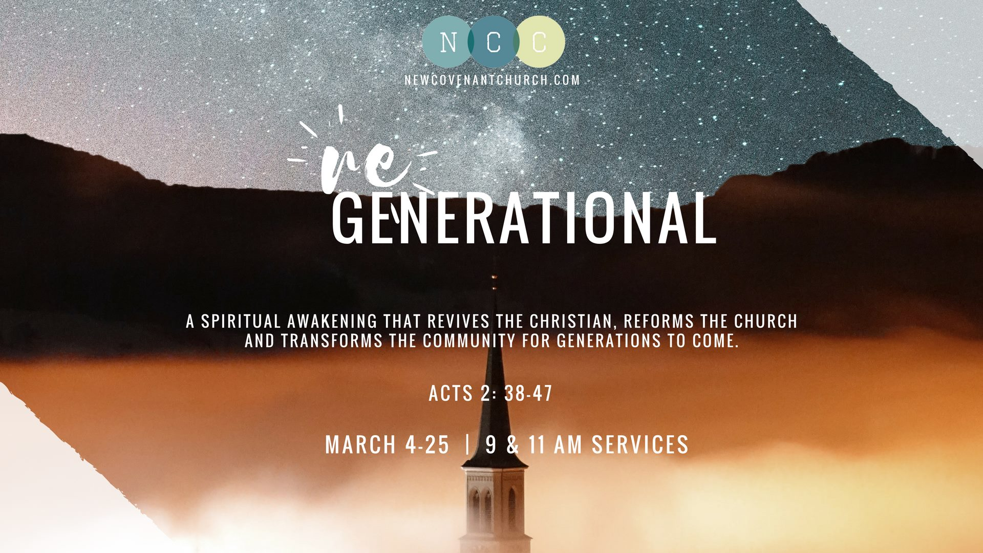 Regenerational: Sermon Series at New Covenant Church Clyde