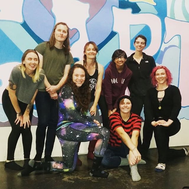 Thank you @femmeleft for bringing us all together for a KAT Power Level 1 seminar! And thank you @mothccc for hosting in your magical space!