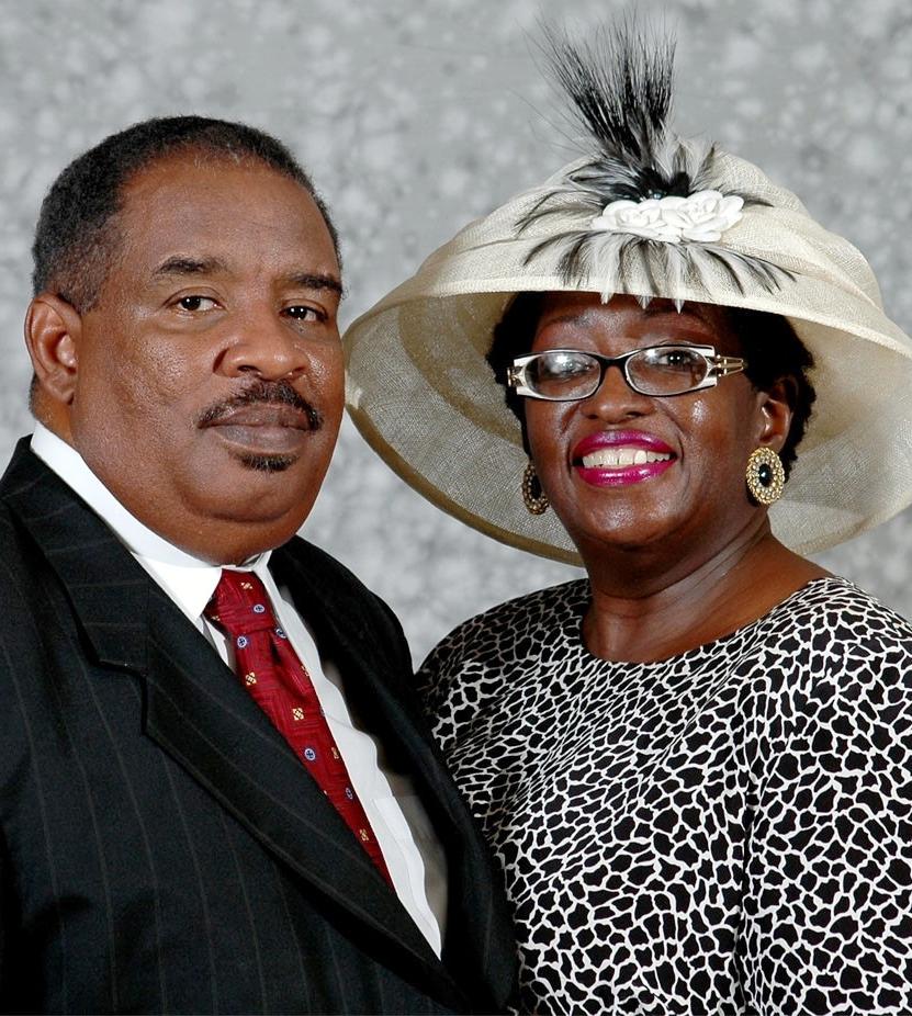 Rev. Clyde & Cassandra        Spicer