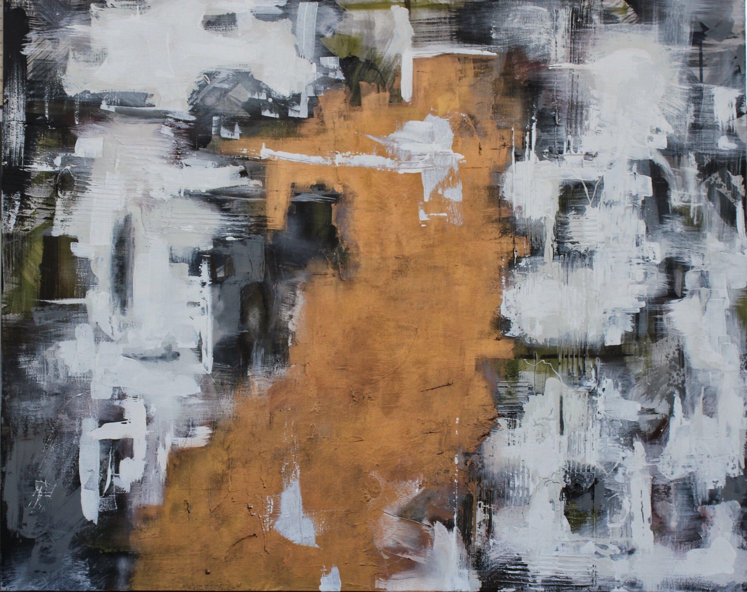 """Law of Diminishing Self Worth"" 48x60"