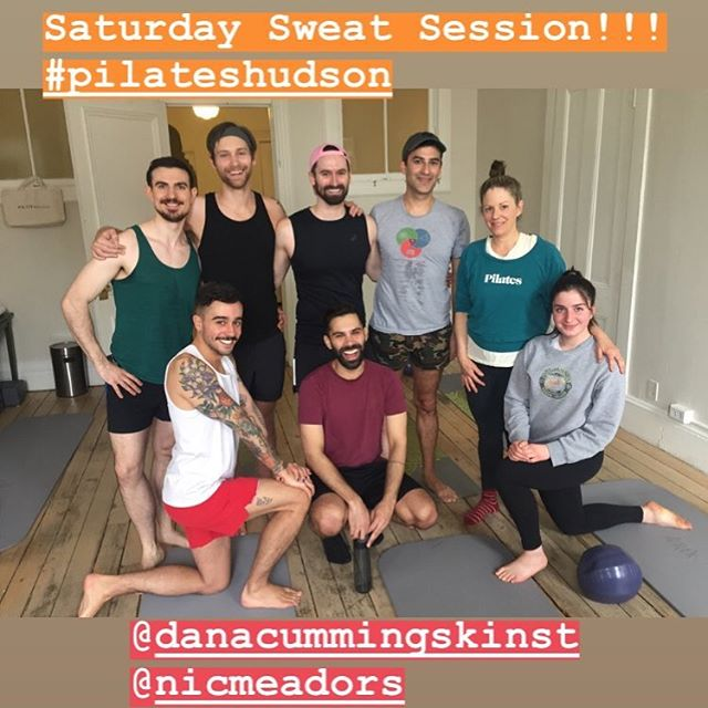 THANK YOU, #hudson and #pilateshudson family!!! What a wonderful weekend of classes and reunions!  Next time, we are seriously getting that #barrefusion  photo in 📸 I'm determined!  You know who you are, lol 😂😇 #pilatesfamily #hudsonvalley #strongissexy 🙌🏽💕🌷