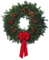 St Davids Christmas wreath sale