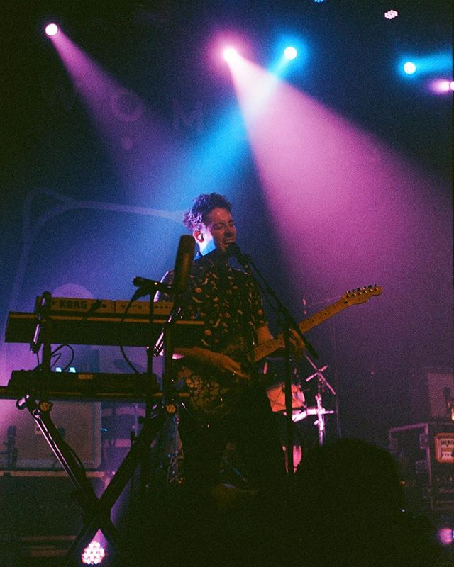 @wombatsofficial live at @belascola on 35mm.