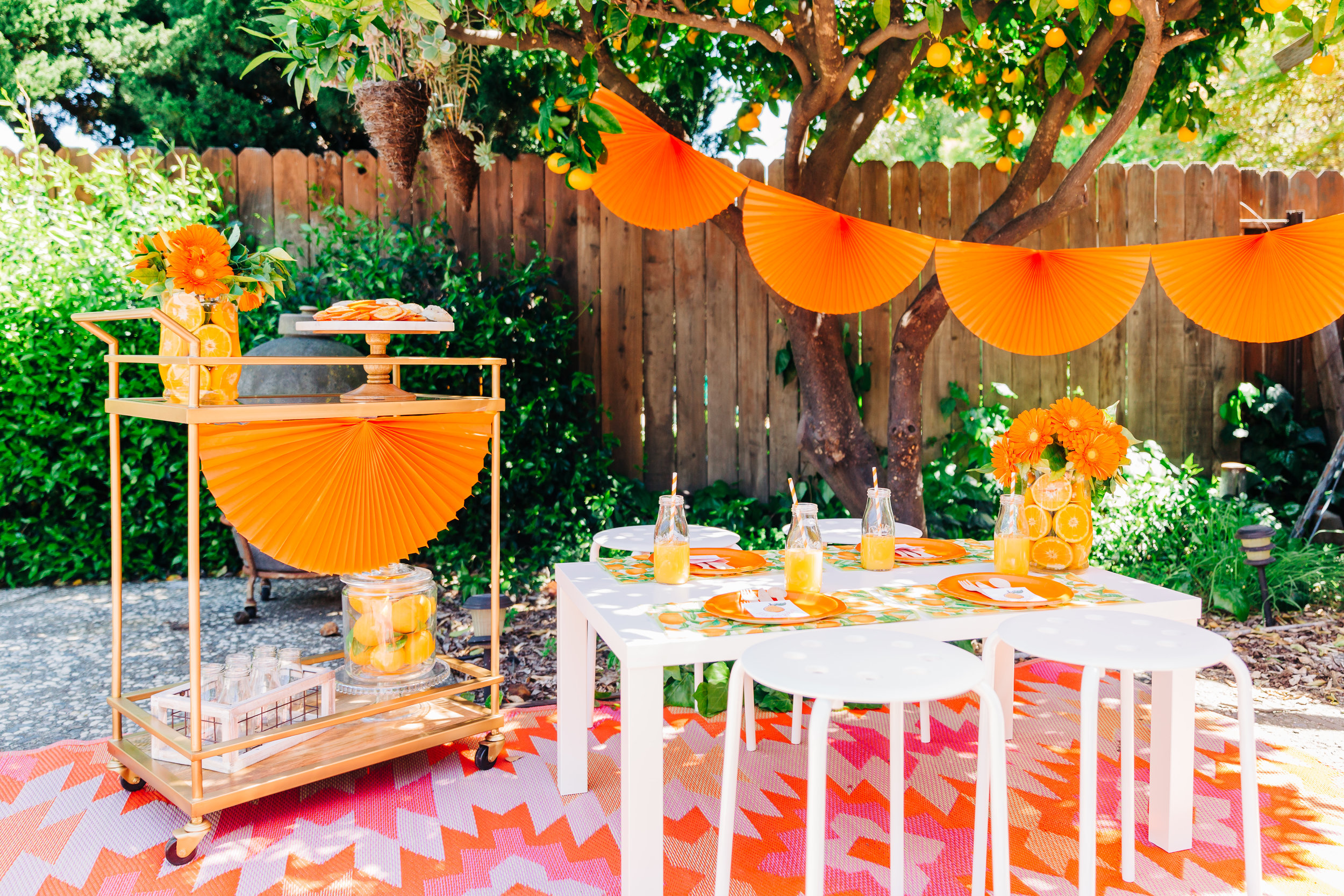 orange picking party with citrus accents and children's table 1.jpg