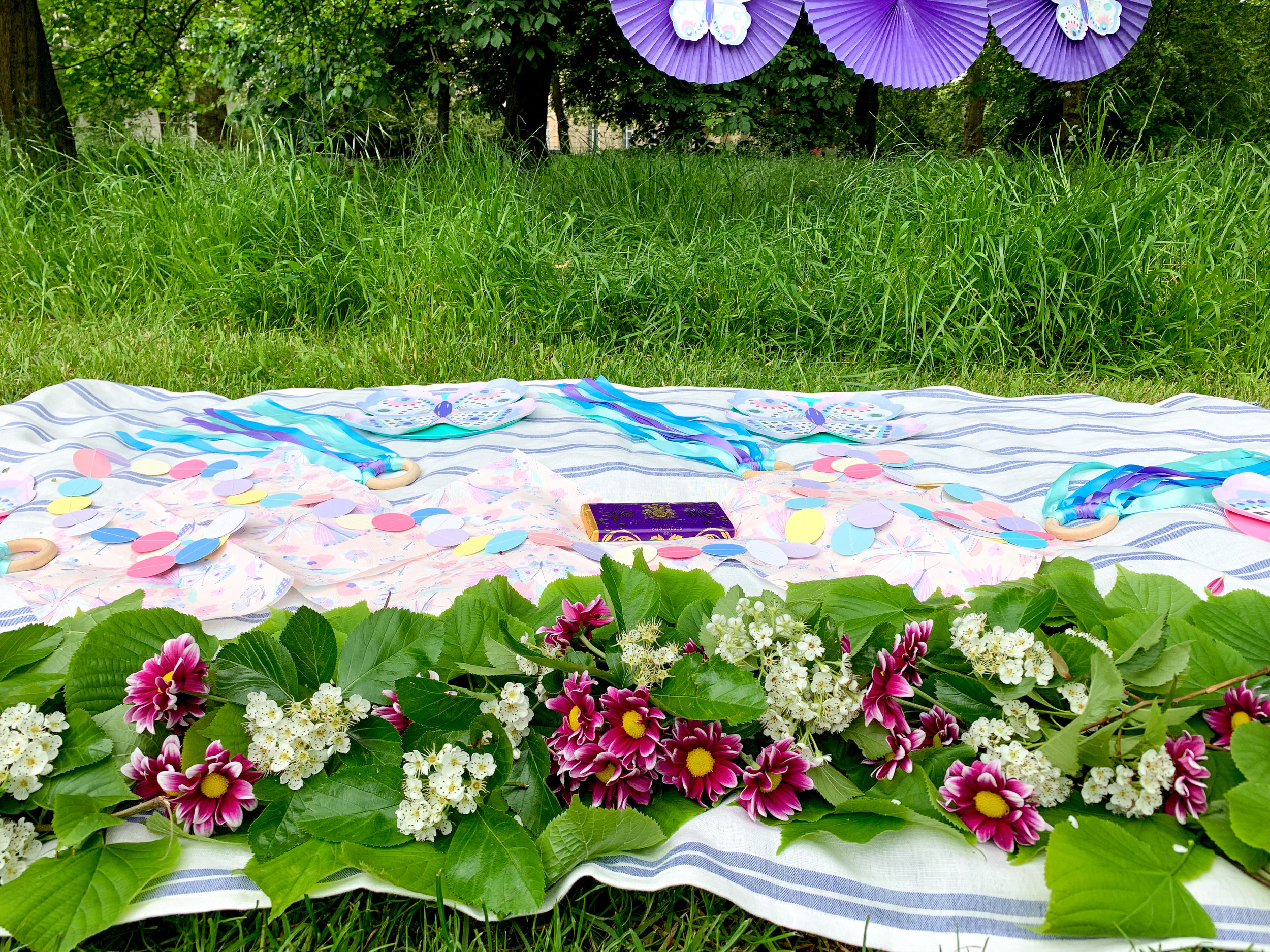 simple butterfly garden purple party 4.jpg