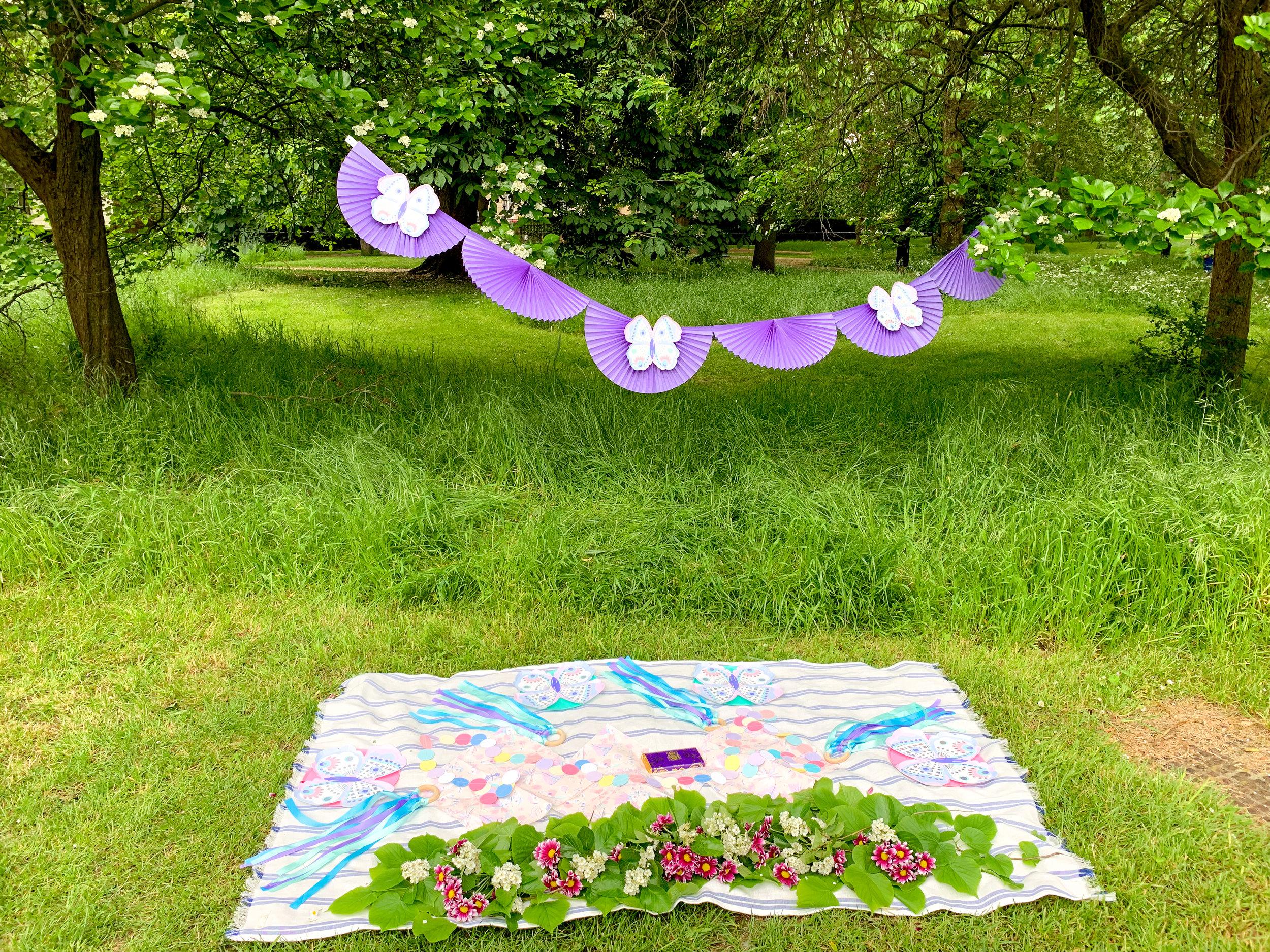 simple butterfly garden purple party 5.jpg