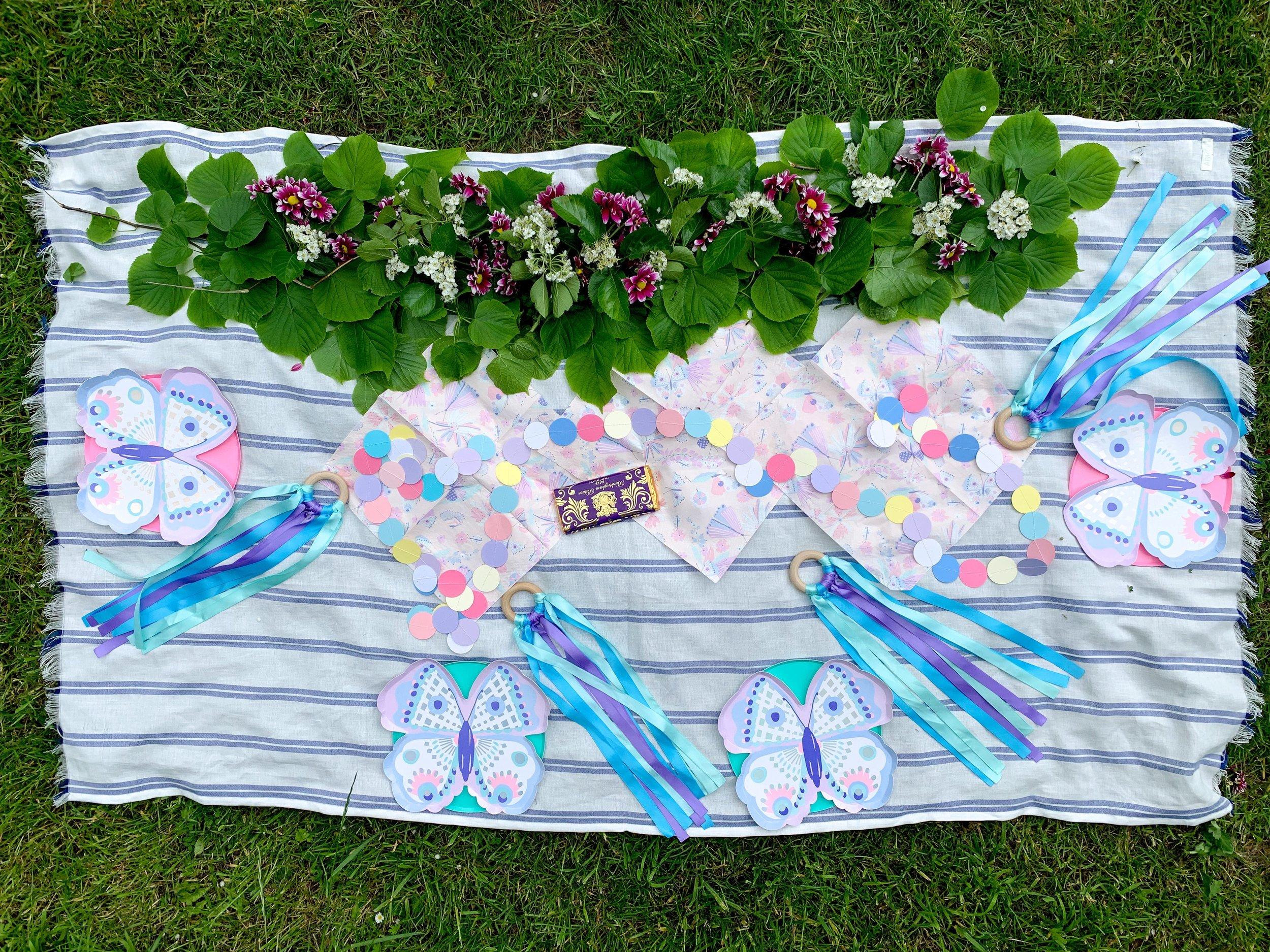 simple butterfly garden purple party 1.jpg