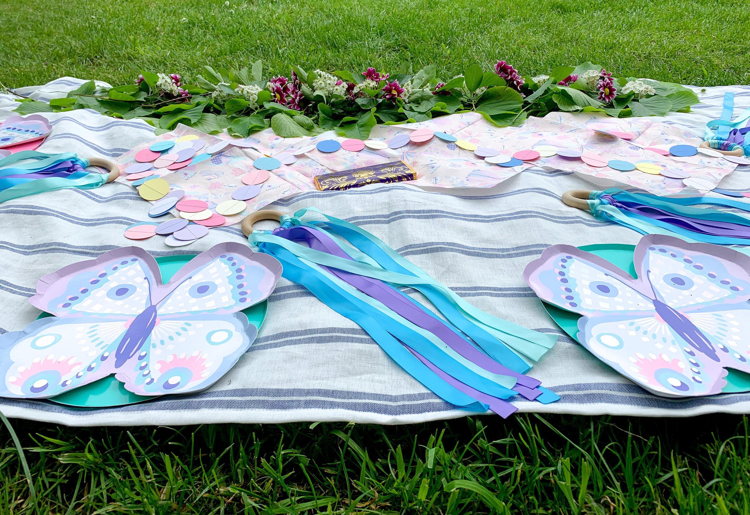 simple butterfly garden purple party 7.jpg