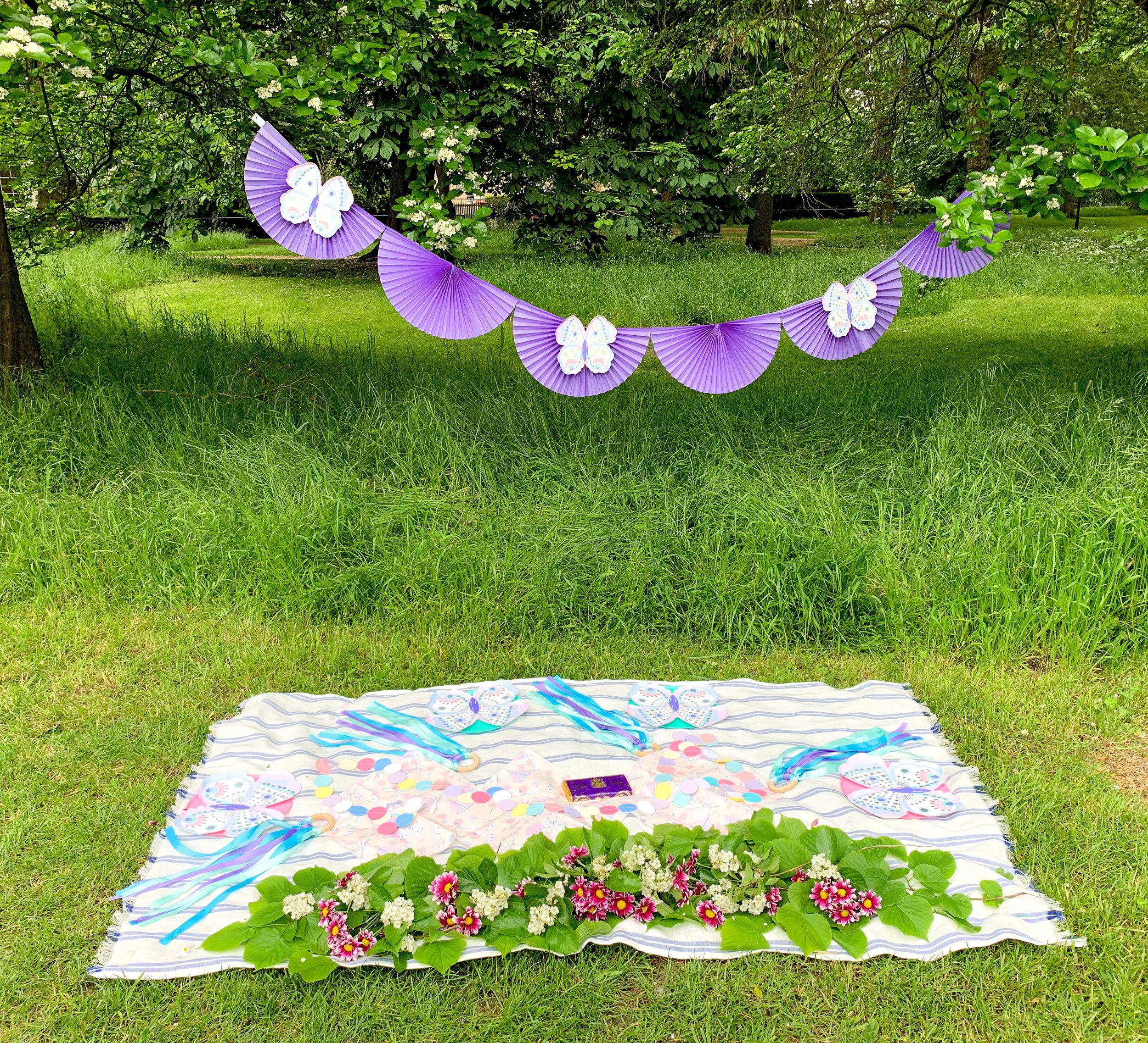 simple butterfly garden purple party 9.jpg