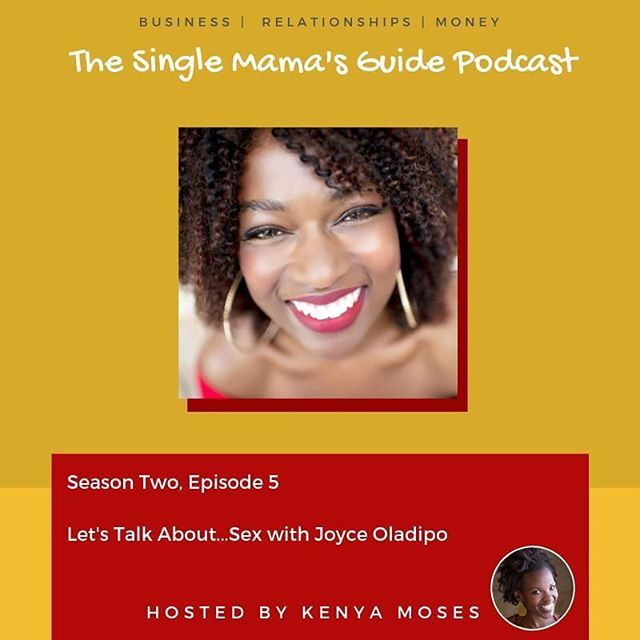 In this episode of The Single Mama's Guide Podcast, I chat with Sex, Love and Relationship Coach, Joyce Oladipo. During our conversation, we explore what it means to self pleasure, communicate with a partner and the art of sexual exploration. 🎙 Get your earbuds out and start listening! 😁🎧 www.thesinglemamasguide.podbean.com  #thesinglemamasguide  #singlemother  #sex #selfpleasure  #healthysex #relationships  #sexcoach #podcast #sexualhealing  #pillowtalk  #erotic