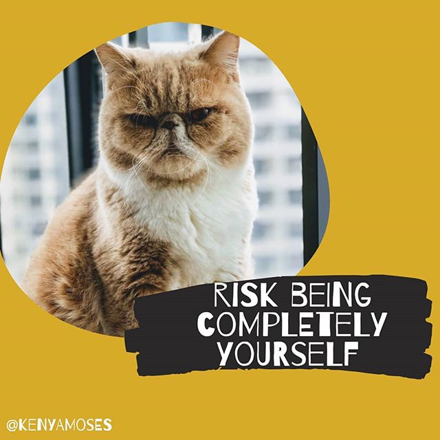 Risk being completely yourself  The moments when the who, the what, the where  are unknown.  Taught to project the mold in which conditioned  The true self sits anxiously, awaiting its time to shine.  #beyourself  #timetoshine #singlemother  #youreawesome #trueself #risk #poems
