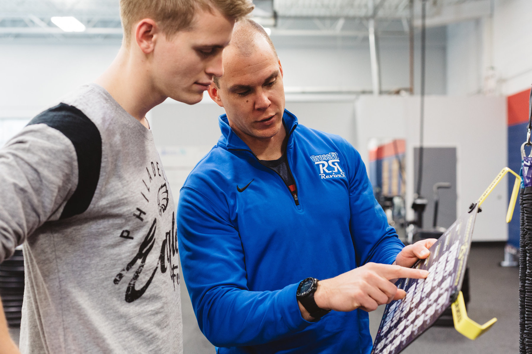 At CrossFit Reviver, you will find a coaching staff who believes in building trusting relationships through focused instruction, intelligent programming, and conversations. We believe that fitness is a lifelong journey that encompasses training, nutrition, stress management, and more. -