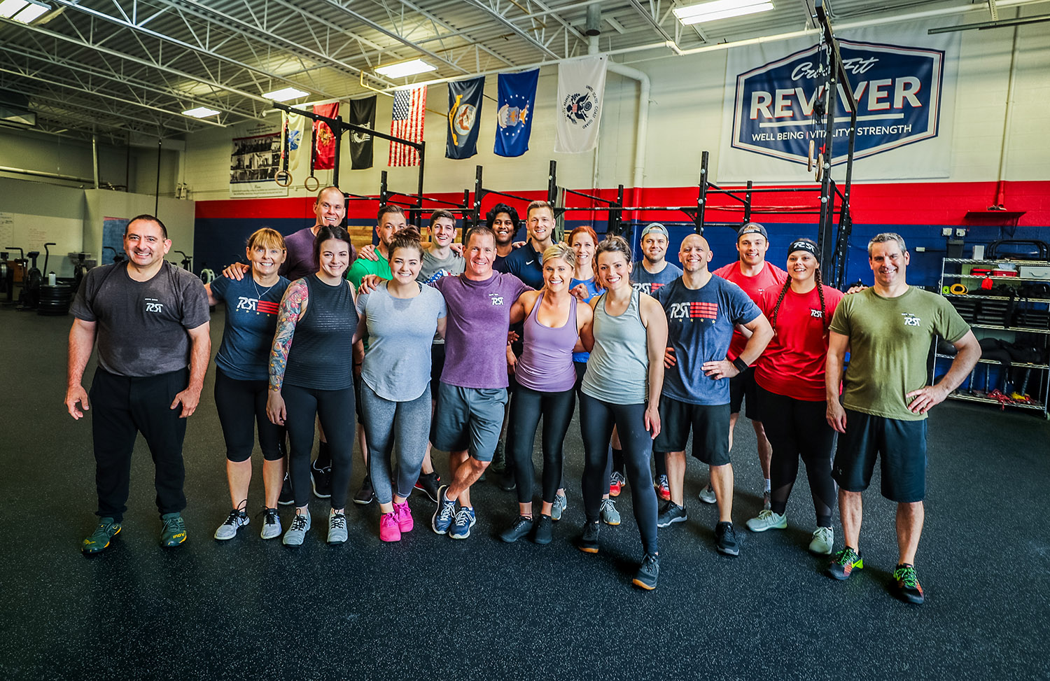 You'll find a community whose energy and support will leave you anxiously awaiting your next visit. You'll find workouts that will not only challenge you physically and mentally, but will prove that you are capable of far more than you ever thought. -